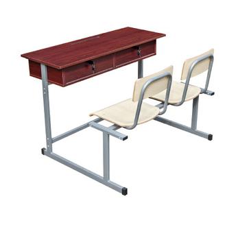 Billige Metall Doppelt Studie Tisch Mit Zwei Stühlenstahl Zwei Dual