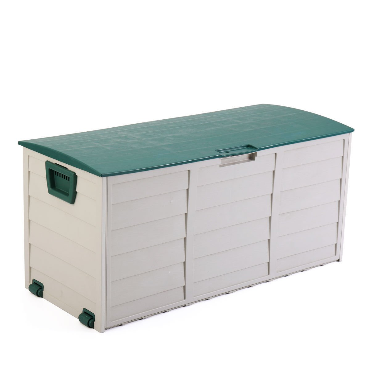 Get Quotations · JAXPETY Garden Storage Tool Box Outdoor Shed Patio Deck  Furniture Yard Container Utility