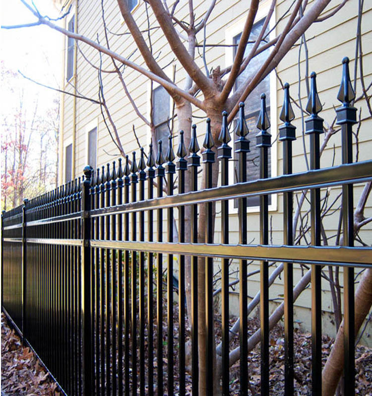 High Quality Wrought Iron House Main Gate Designs,Iron Pipe Gate ...