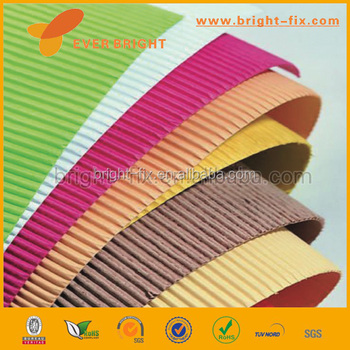 Diy Toys Color Corrugated Paper/corrugated Paper Rolls/colorful Jumbo Roll  Corrugated Paper - Buy Colorful Jumbo Roll Corrugated Paper,Colorful Jumbo