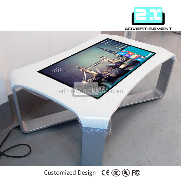 43 Inch LCD Multi Touch Screen Table Touch Table Kiosk