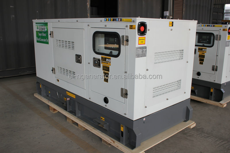 In Stock Silent canopy type harga genset 50 kva