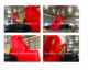 Customized Inflatable Big Baller Ball/Inflatable Red Balls Game/Inflatable Wipeout