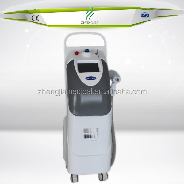 Fast eyebrow tattoo pigment removing nd:yag q-switched ruby laser removal tattoo machine