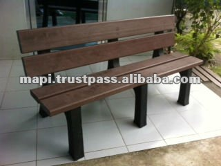 Park Bench from Recycled Plastics