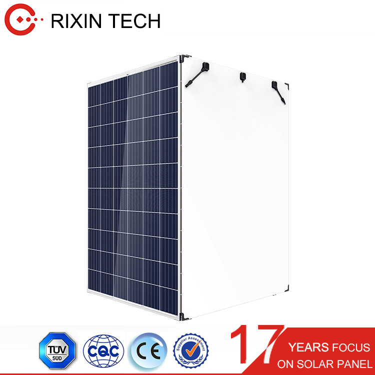 TUV/CE 60cells 260W 265W 270W 275W 280W Polycrystalline Silicon Double Glass Solar Panel