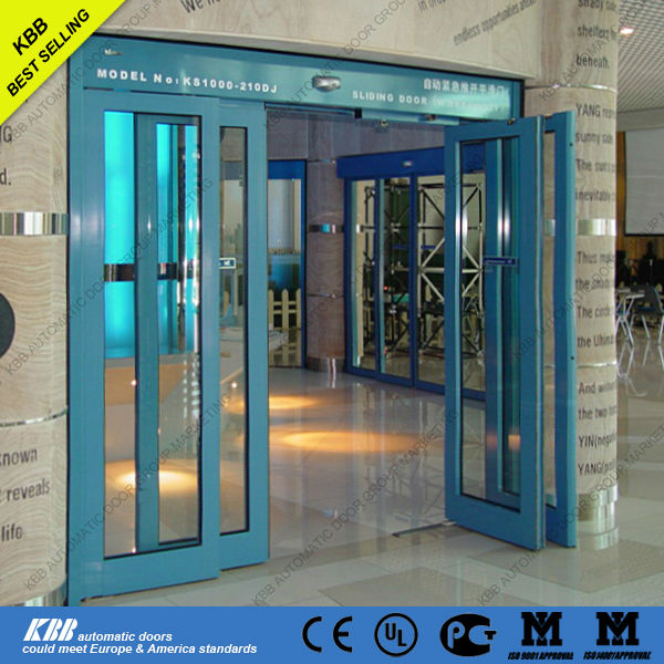 Auto Sliding Door With Panic Breakout Function Europe