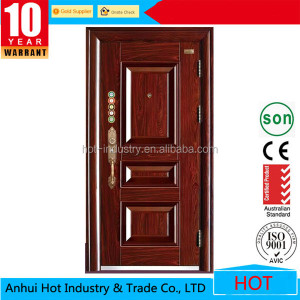 Cheap Hign Quality Steel Security Door Design, Modern Indian Stainless Steel Front Door Design