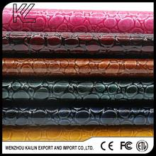 Brand new synthetic upper leather for wholesales