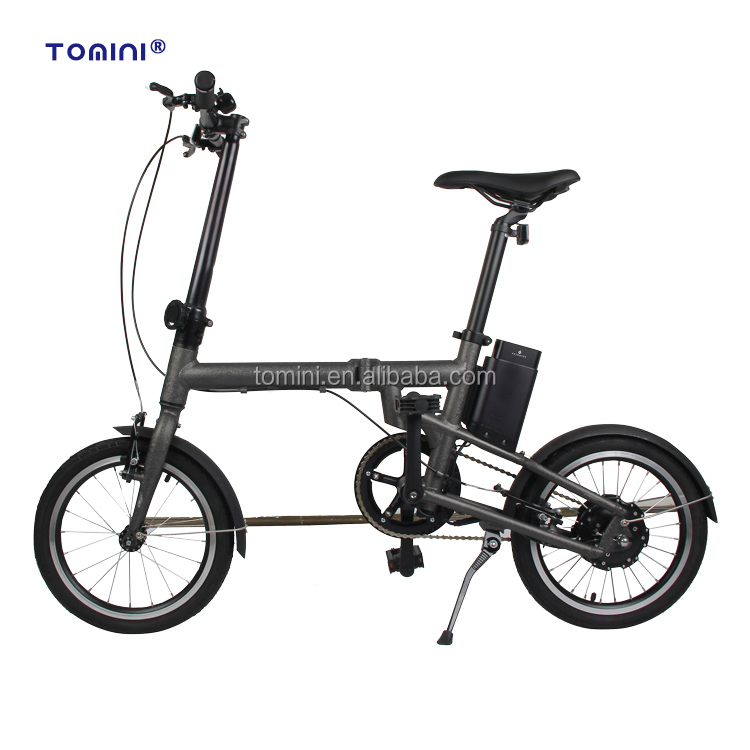 2017 Popular white e bike small folding electric bicycle
