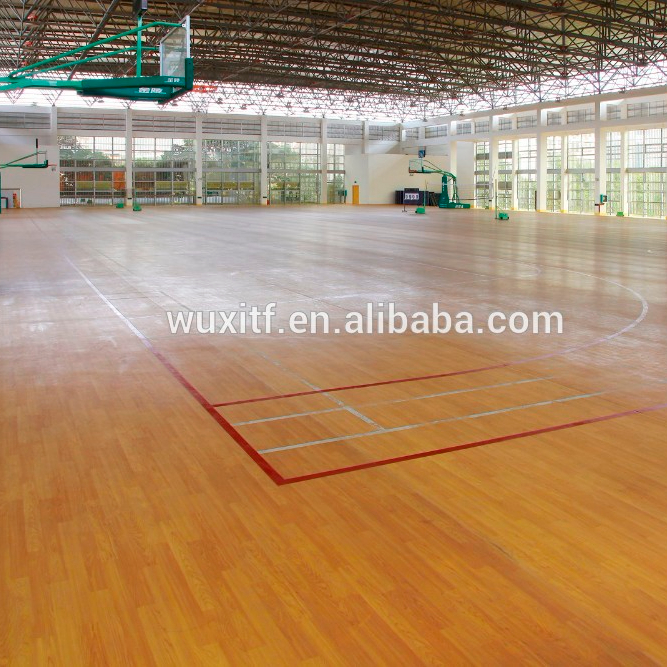 4.5mm basketbalveld vloer