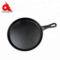 Custom non stick cookware set cast iron fry pan