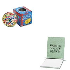 KITACC54115ACC72155 - Value Kit - Acco Pressboard Hanging Data Binder (ACC54115) and Acco Rubber Band Ball (ACC72155)