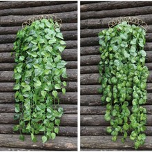 decorative leaves artificial vegetable garland