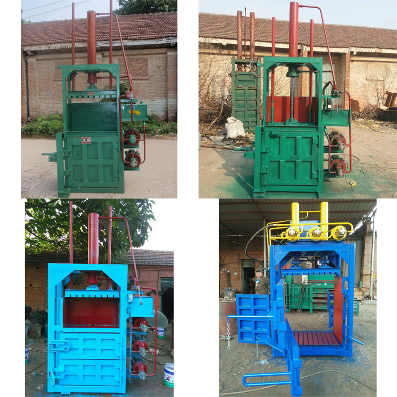 Hydraulic Press Waste Paper Baler Machine Compress Bale Packing Machine with good price