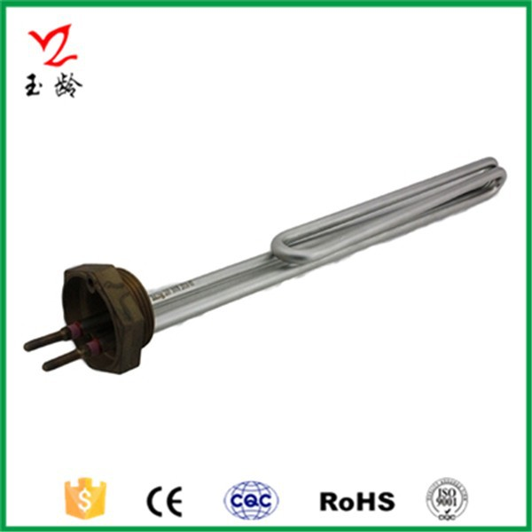 Taizhou-Yuling custom made high quality flanged immersion water heater heating elements