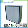 hepa filter h14 deep pleated box hepa air filter for industrial