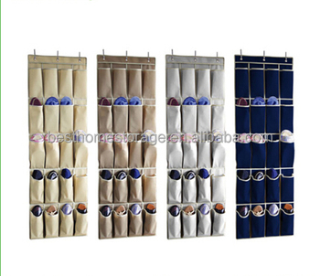 Beautiful 20 Pockets Over Door Cloth Shoe Organizer Hanging Hanger Closet Space Baby  Shoe Storage Bag