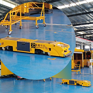 Automated guided vehicle industrial warehouse agv robot manufacturer price
