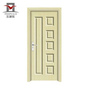 Costomize Size High End Accepted Oem Mdf Pvc Washroom Bathroom Door