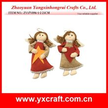 Christmas decoration (ZY17Y096-1-2 23CM) angel home decoration ornament