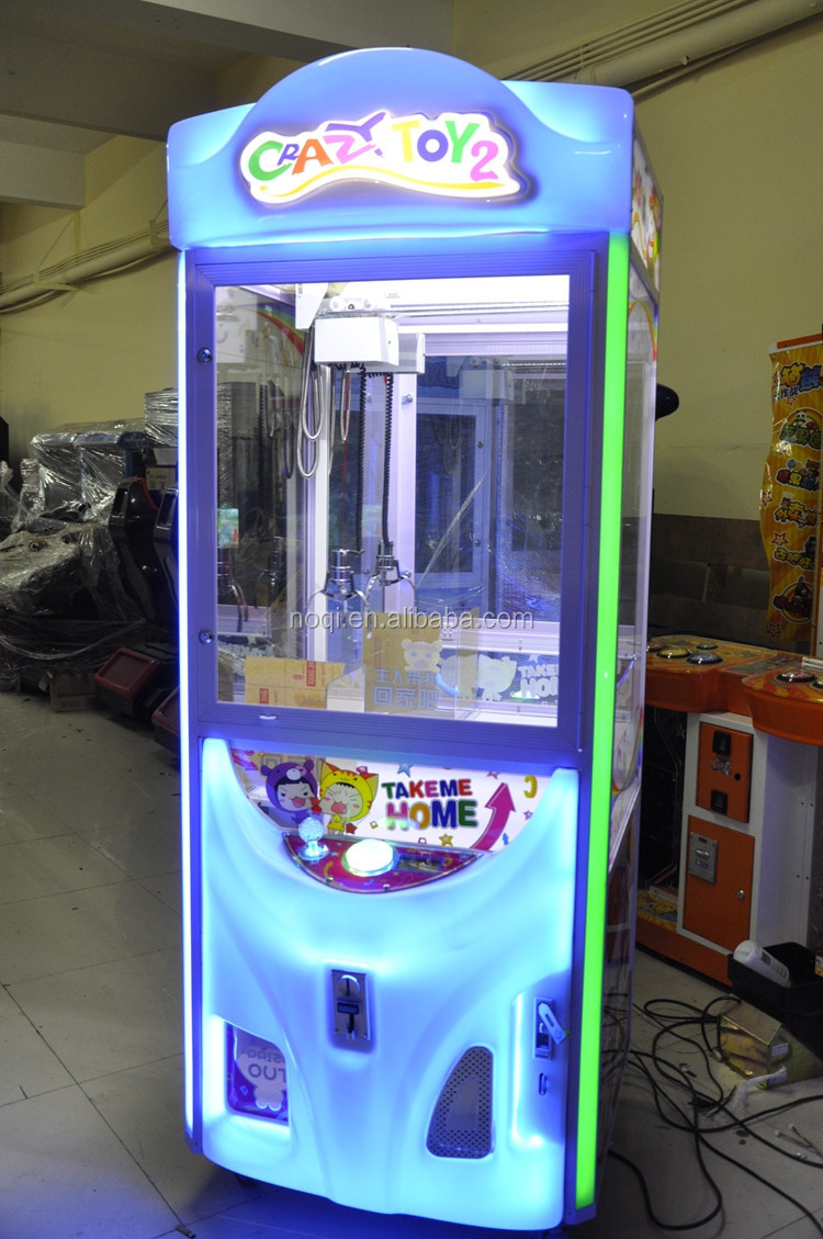 Factory Price Catcher Toy Crane Claw Machine For Sale