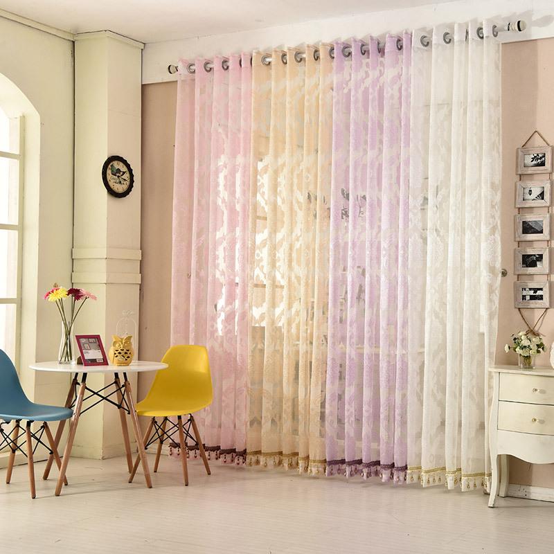 Online Get Cheap Purple Beige Curtains -Aliexpress.com