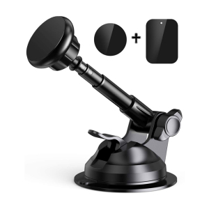 Magnetic Phone Car Mount, Hands-Free Universal Magnetic Phone Holder for Car Dashboard and Windshield