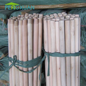 Household Cleaning Tools natural wood timber poles africa with Thread