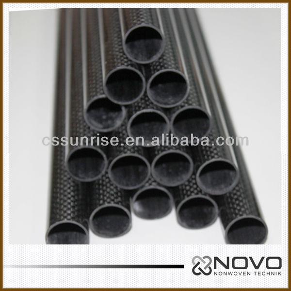 CFRP <strong>carbon</strong> fiber pipe twill for fishing gaff 6mm*10mm*1000mm