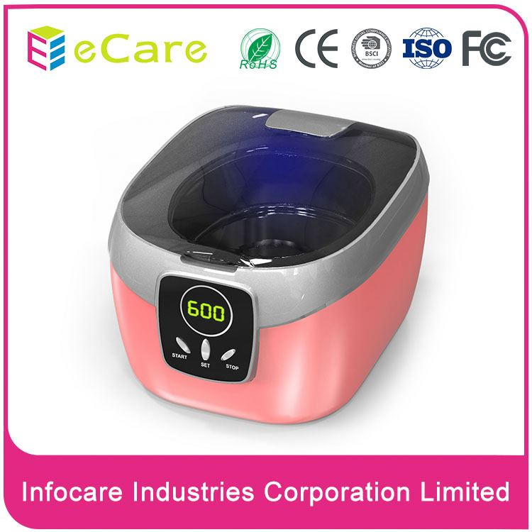 Modern design hot sell cd ultrasonic cleaners mini