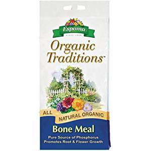 Espoma BM10 Organic Traditions Bone Meal 4-12-0, 10 Pounds