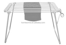 industrial folding style 2 tiers clothes drying rack