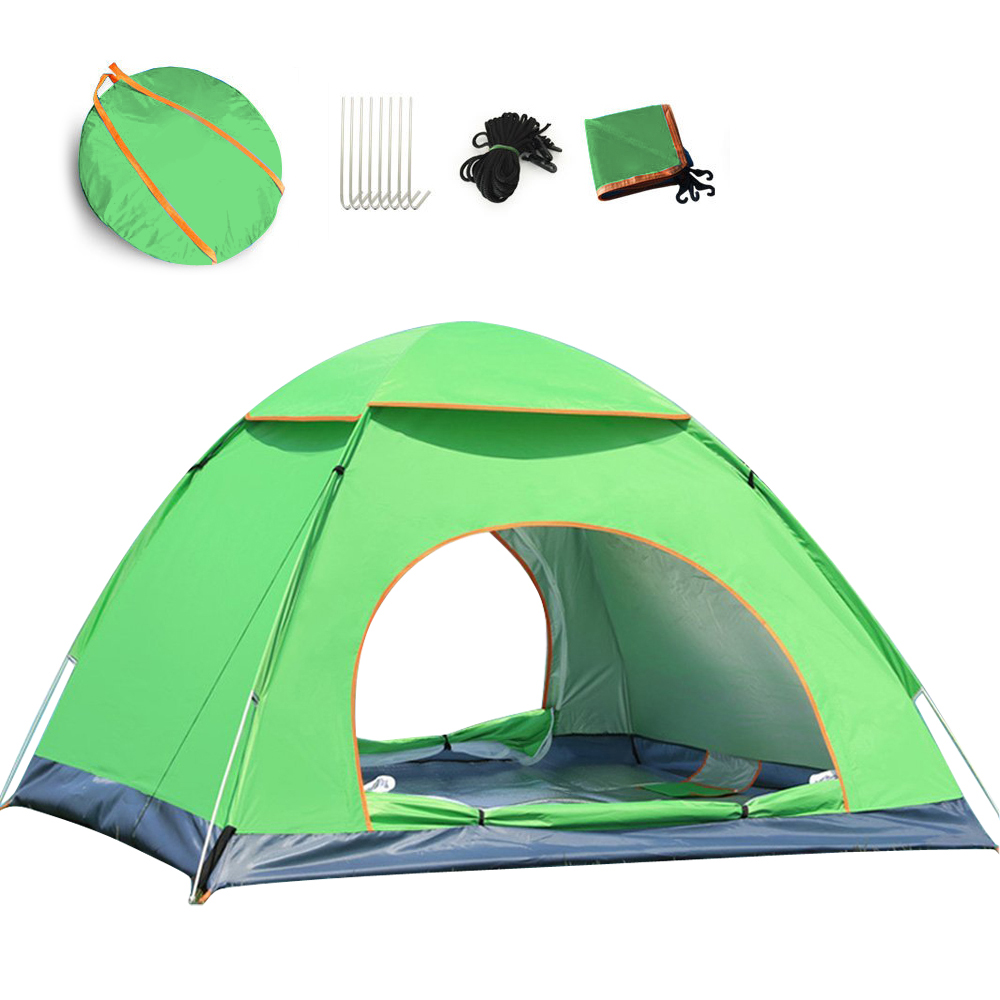 Travel Family Two Layer Tent Camping Tent, cheaper outdoor pop up beach cabana