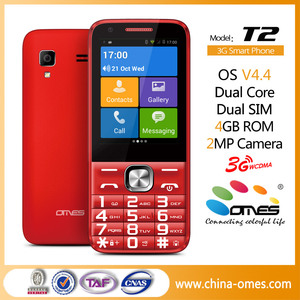 T2 Chinese 2.8 inch Android 4.4.2 MTK6572 with touch screen keypad qwerty keypad android mobile phone