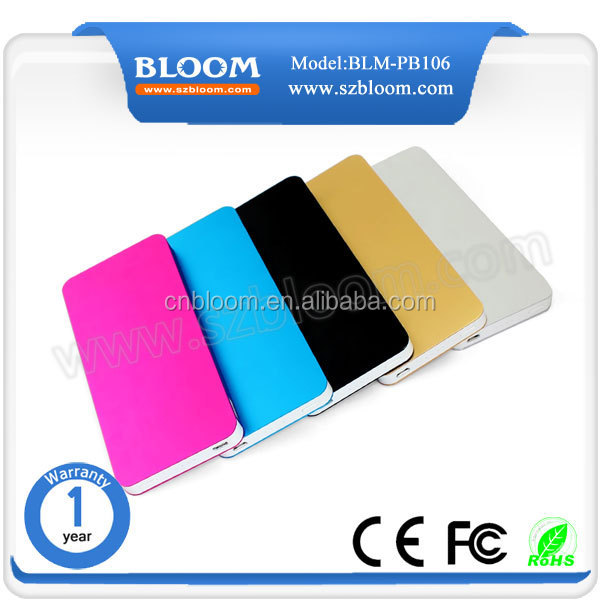 DIGIBLOOM built-in cable power bank 12000mah li-polymer power bank for ipad, ipod, camera
