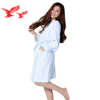 China Supplier High Quality Cotton Two Sided Terry Towel Bathrobe
