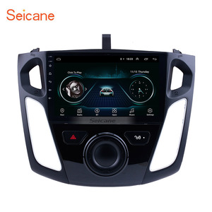 9 inch Android 8.1 HD GPS Navigation 1024*600 Touchscreen Radio for 2011-2015 Ford Focus with Bluetooth WIFI 1080P USB