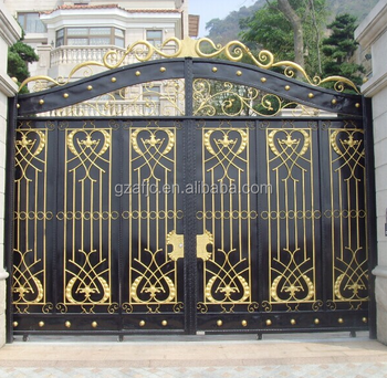 Iron Gate, Beautiful Metal Fence Grill Gate, Door Front