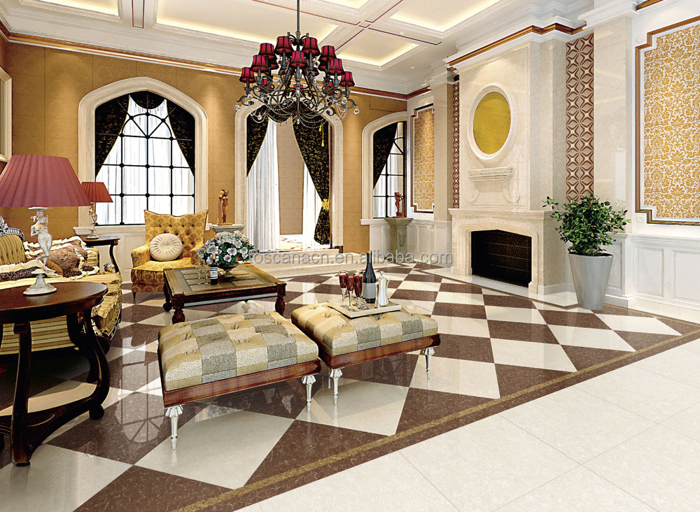 Brand Names Ceramic Floor Tile Hot Sale Design In India