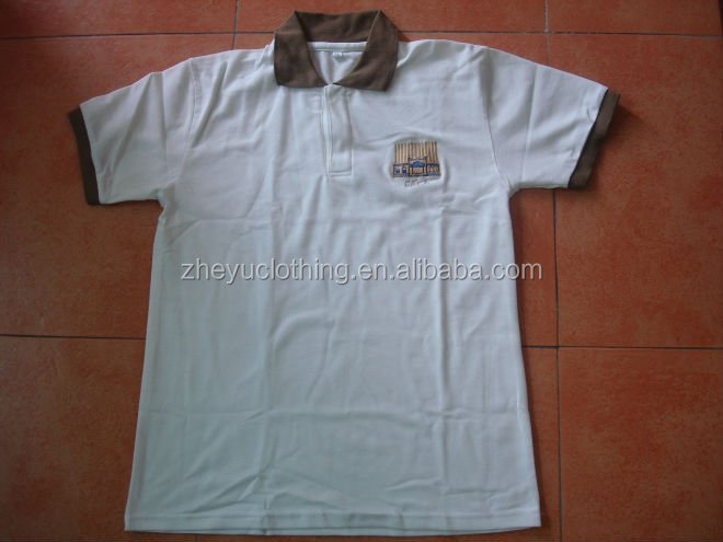 New Design Plain Blank 100%Cotton Polo T Shirt Wholesale Uniform Pique Poloshirts