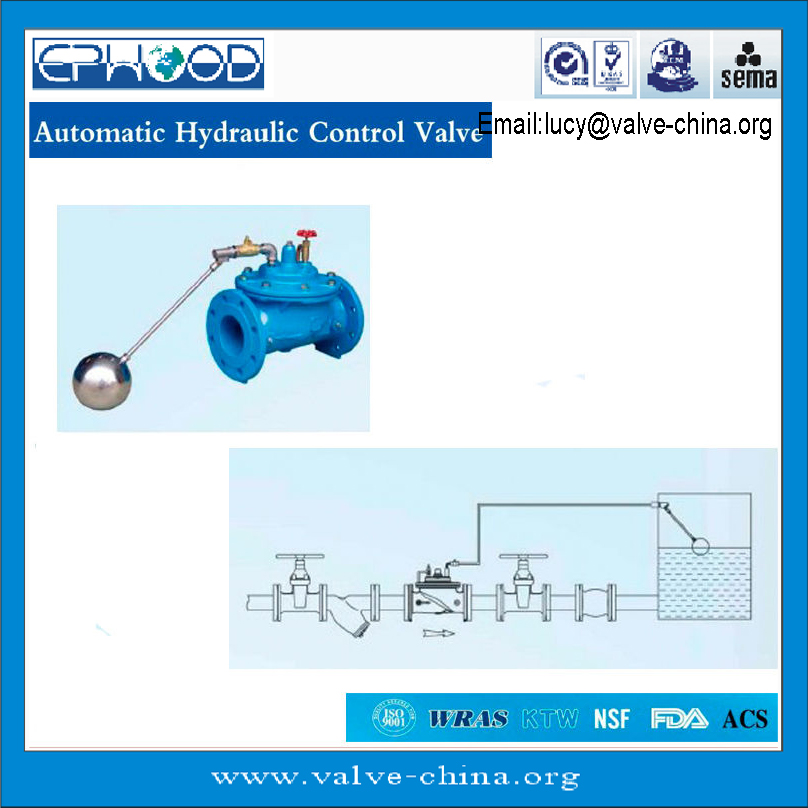 100X Remote Float Control Valve