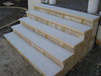 Beau Limestone Step Treads / Copings