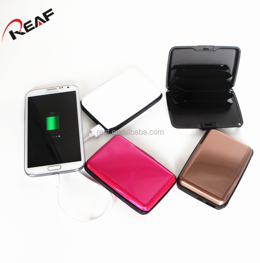 2017 own patent credit card power bank
