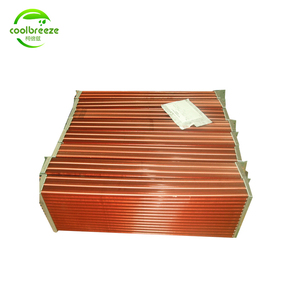 fin s steel drying copper tube heat exchanger for crusher lubrication oil cooling