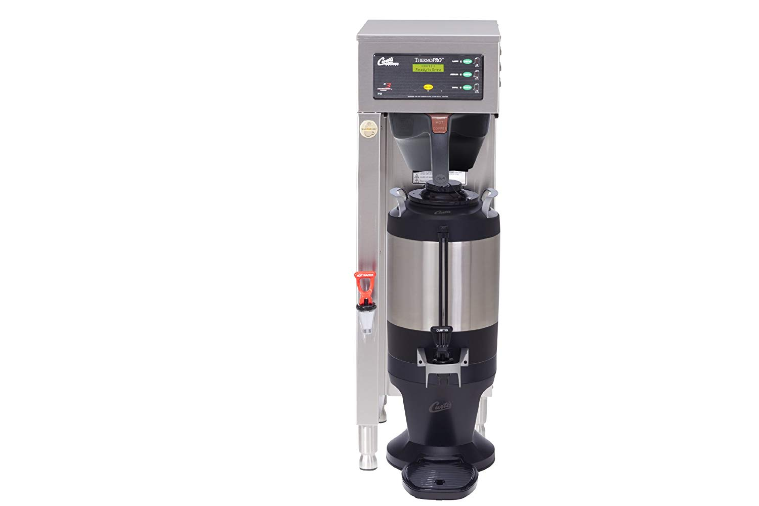 "Wilbur Curtis TP15S63A1100 G3 Thermopro Brewers, Single, 1.5-Gallon, Dual Voltage, 35.13"" Height x 11.13"" Width"