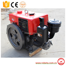 Cheap and durable marine diesel engine with gearbox