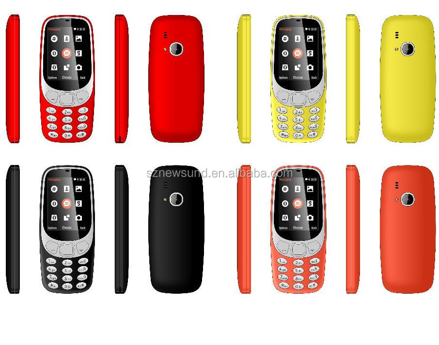 For nokia 3310 1.77inch smart phone with dual sim card china mobile