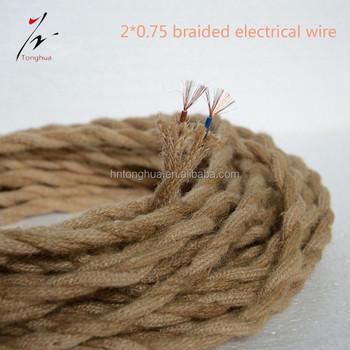 Cuerda De Camo Cable Elctrico Cable Trenzado Cuerda Camo