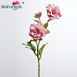 Colorful best quality wholesale fabric silk plastic artificial hibiscus flowers
